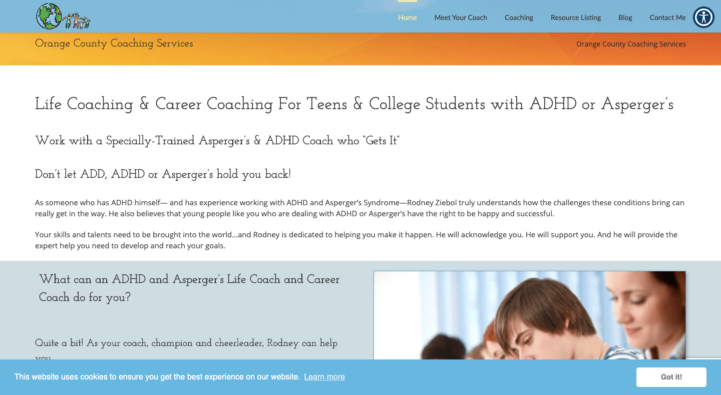 Home Page Image for OC Coaching Services
