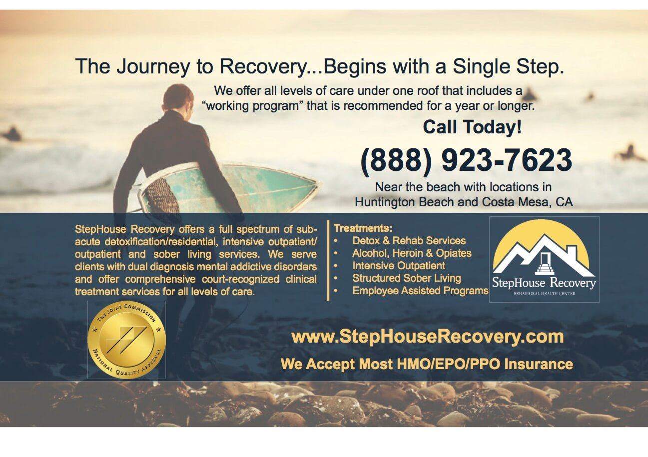 Ad Design StepHouse Recovery