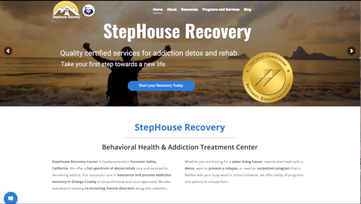 Home Page Image for StepHouse Recovery
